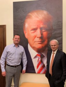 Richard Grenell with Morton Klein, Zionist Organization of America