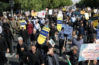 Anti-US demonstrations in Iran