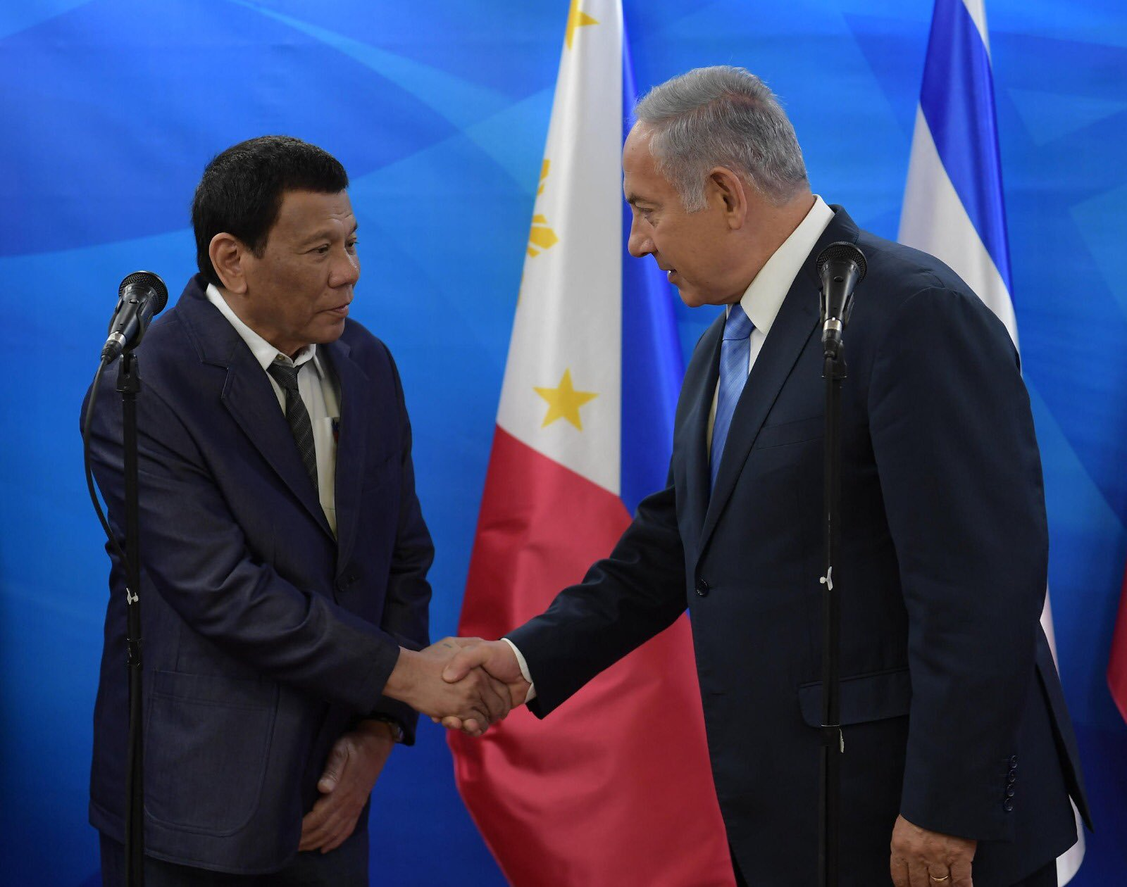 Duterte and Netanyahu