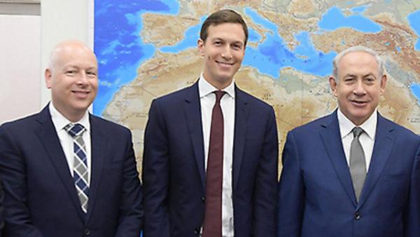 Netanyahu-Jared-Kushner-Jason-Greenblatt