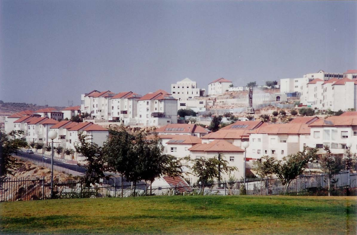 The Israeli West Bank settlement of Beitar Ilit